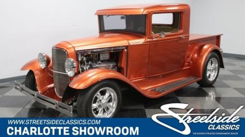 shiny 1930 Ford Model A Pickup vintage for sale