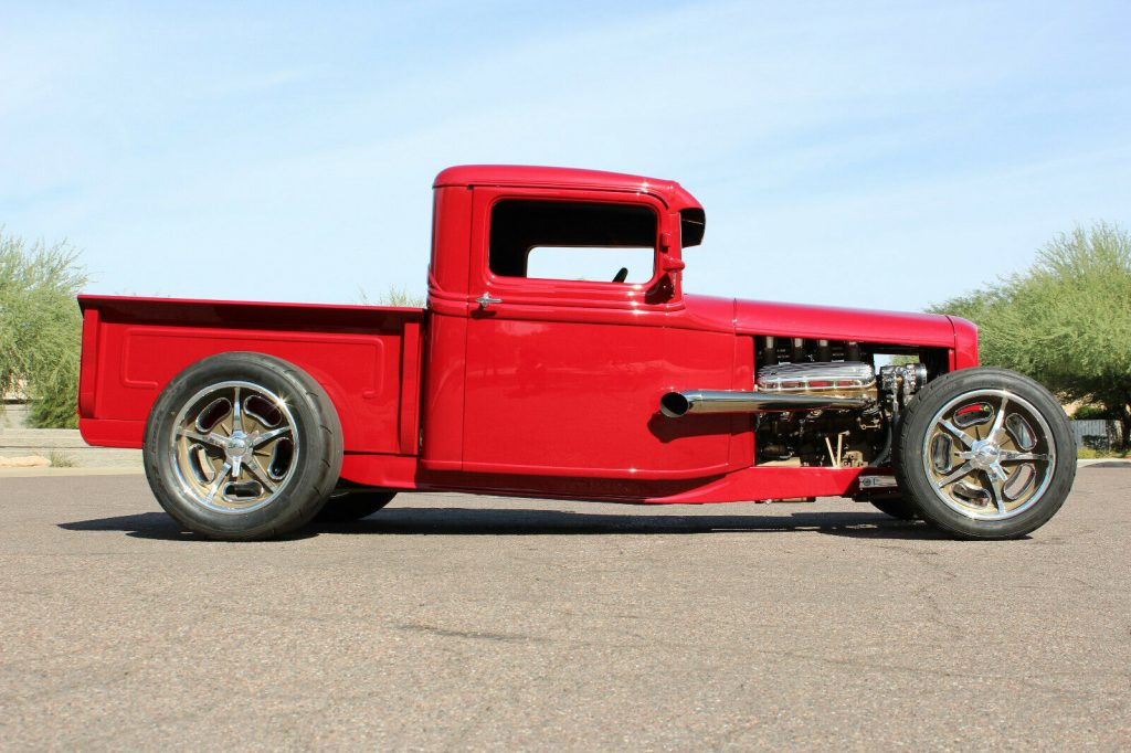 awesome build 1934 Ford Pickup vintage