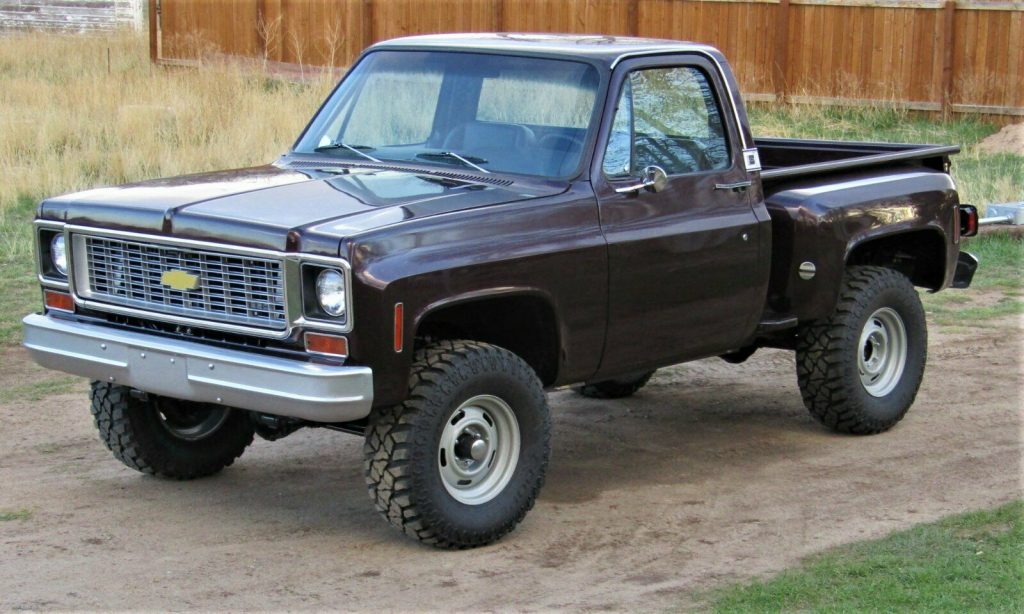 lifted 1974 Chevrolet C 10 pickup vintage