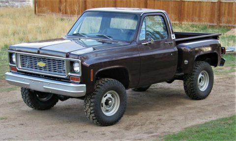 lifted 1974 Chevrolet C 10 pickup vintage for sale