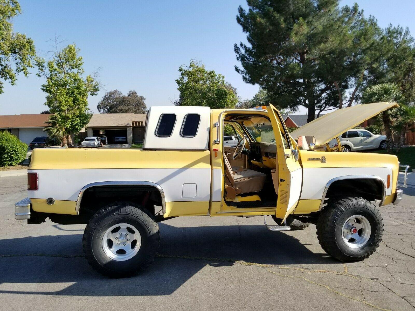 Lifted 1979 Chevrolet C 10 C K 1500 Pickup Vintage For Sale