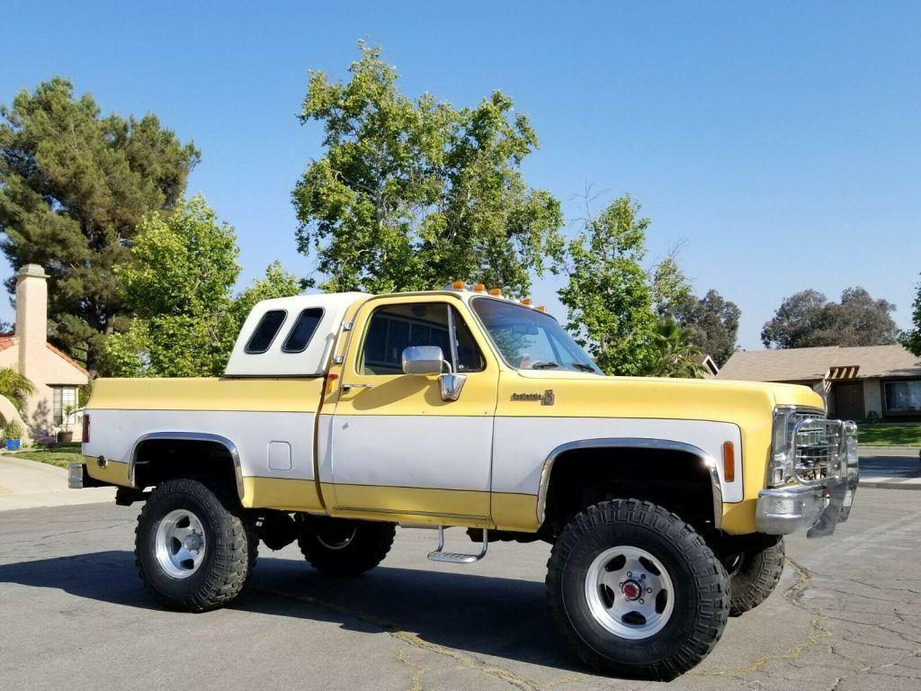 lifted 1979 Chevrolet C 10 C/K 1500 Pickup vintage