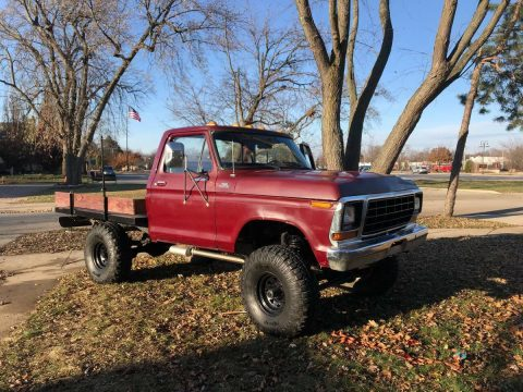 lots of new parts 1979 Ford F 150 vintage for sale