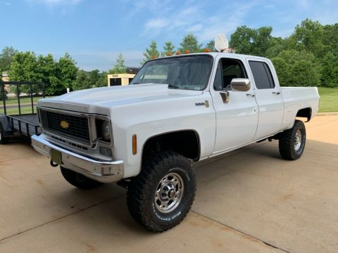 new engine 1976 Chevrolet 2500 Pickup vintage for sale