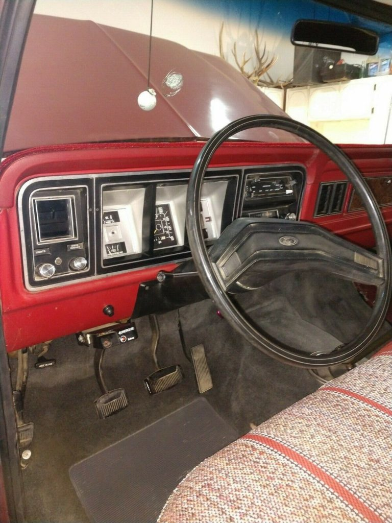 perfectly customized 1979 Ford F 250 Custom pickup vintage