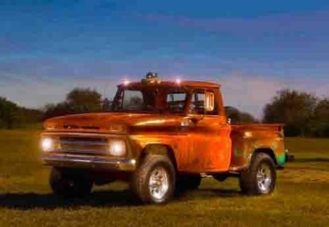 rat rod 1965 Chevrolet Stepside Pickup 4×4 vintage for sale