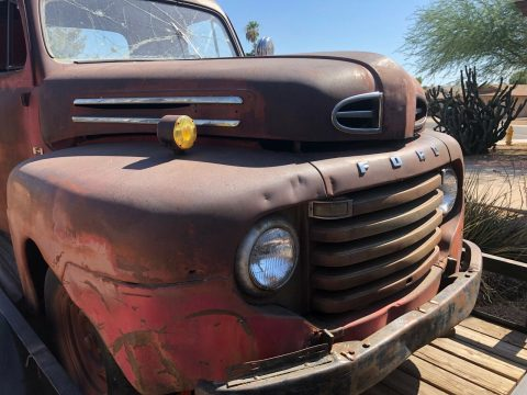 barn find 1948 ford F1 Pickup vintage for sale