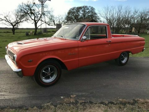 cool 1963 Ford Ranchero 260 V8 4 Spd Manual vintage for sale