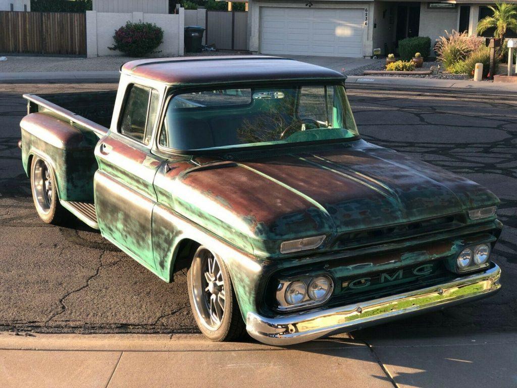 custom 1963 GMC pickup vintage