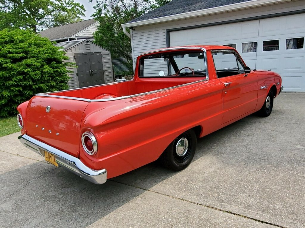 new front end parts 1960 Ford Ranchero vintage