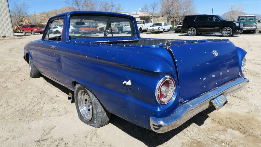 non running 1961 Ford Ranchero vintage