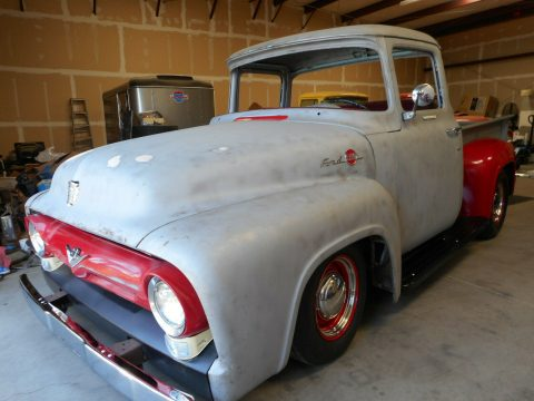project 1956 Ford F 100 Big Window pickup vintage for sale
