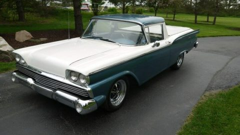 very nice 1959 Ford Ranchero pickup vintage for sale