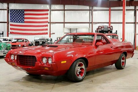 custom 1972 Ford Ranchero vintage for sale