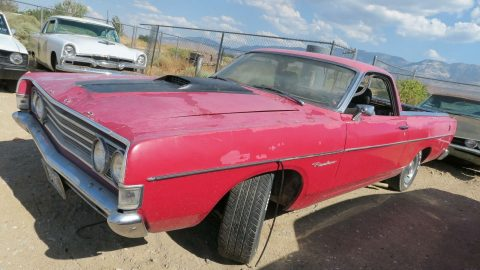 GT Options 1969 Ford Ranchero vintage for sale