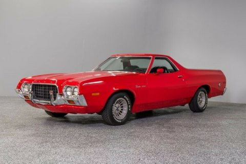 low miles 1972 Ford Ranchero vintage for sale