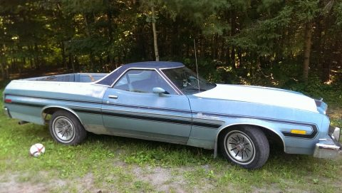 low miles 1976 Ford Ranchero vintage for sale