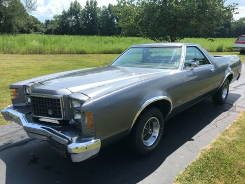 nice 1979 Ford Ranchero vintage for sale