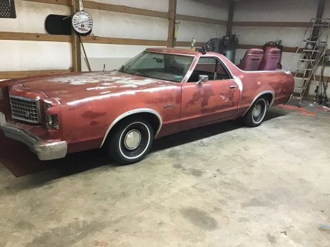 solid 1979 Ford Ranchero 500 vintage for sale