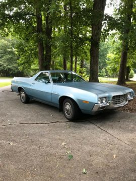 very solid 1972 Ford Ranchero 500 vintage for sale