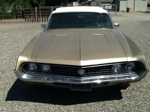 barn find 1970 Ford Ranchero Squire vintage for sale