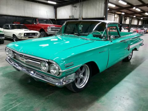 big block 1960 Chevrolet El Camino 396 vintage for sale