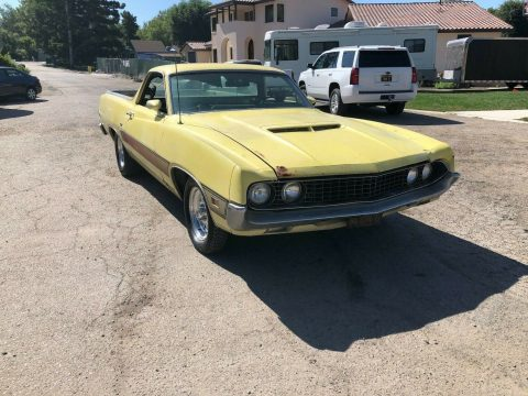 needs work 1970 Ford Ranchero GT vintage for sale