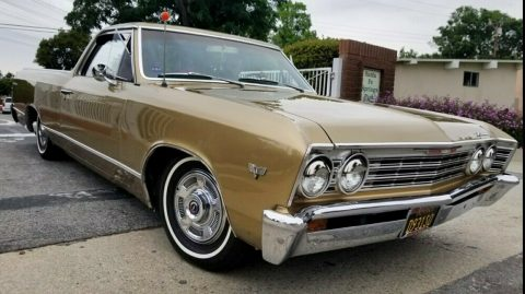 new paint 1967 Chevrolet El Camino vintage for sale