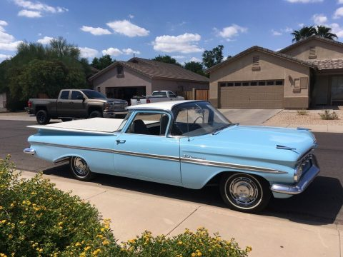 restored 1959 Chevrolet El Camino vintage for sale