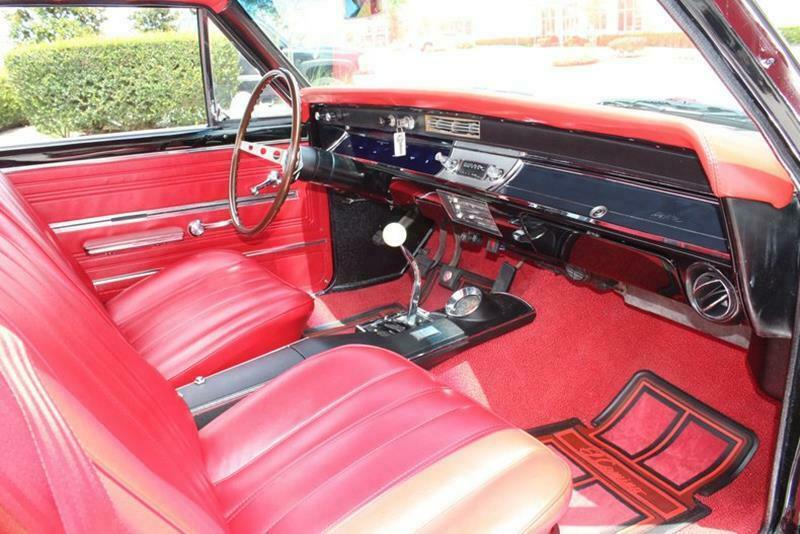restored 1966 Chevrolet El Camino vintage