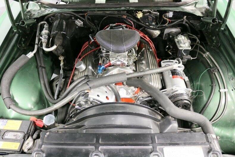 built-up engine 1970 Chevrolet El Camino SS Tribute vintage