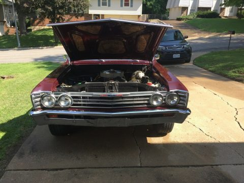 clean 1967 Chevrolet El Camino vintage for sale
