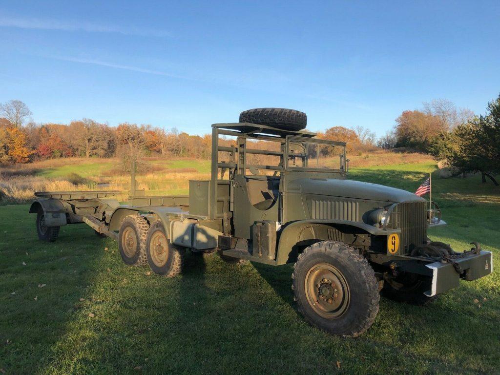 military 1945 GMC CCKW 353 Bolster Ponton Truck 6×6 vintage