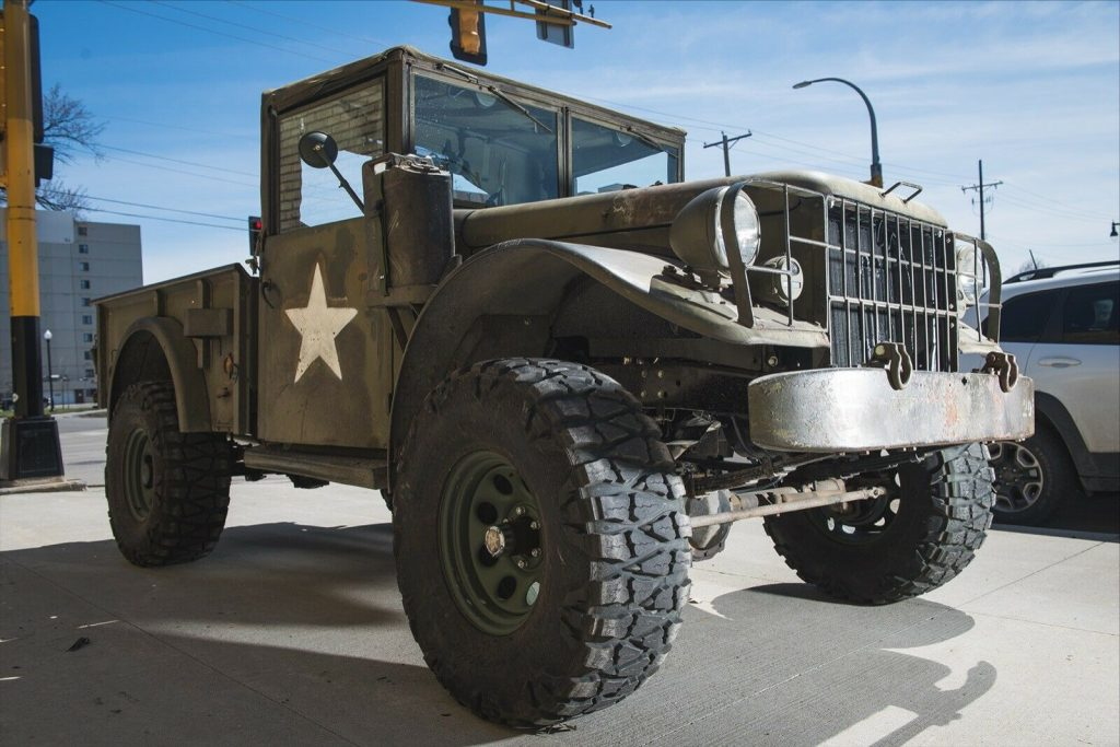military 1955 Dodge M37 Power Wagon vintage