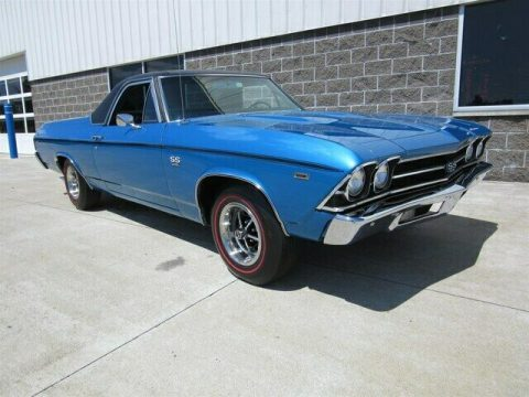 restored 1969 Chevrolet El Camino SS396 vintage for sale