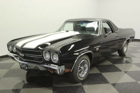 upgraded 1970 Chevrolet El Camino SS 454 vintage for sale