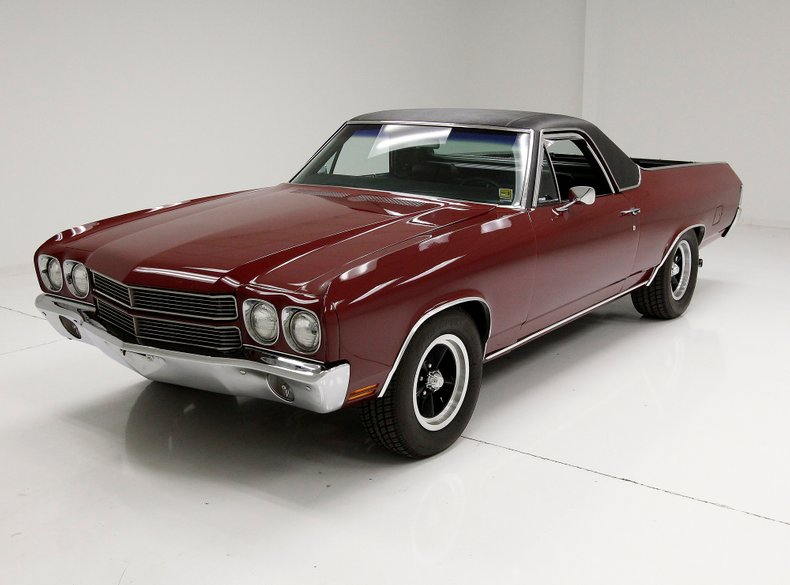very clean 1970 Chevrolet El Camino vintage