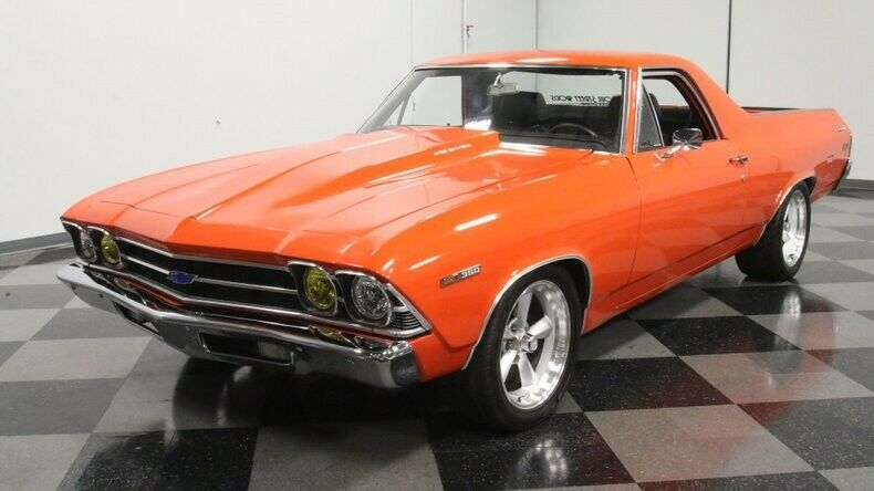 well maintained 1969 Chevrolet El Camino vintage