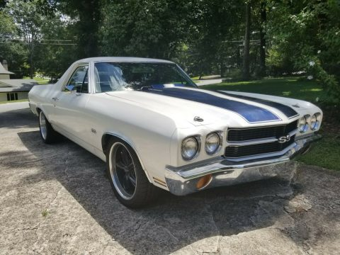 well modified 1970 Chevrolet El Camino SS 396 vintage for sale