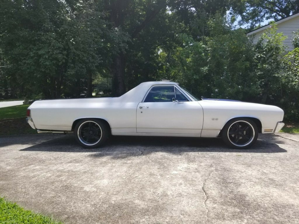 well modified 1970 Chevrolet El Camino SS 396 vintage