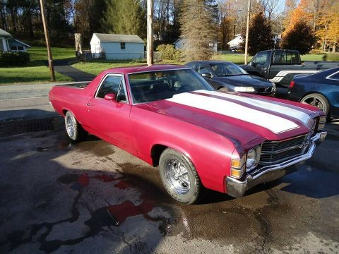 everything works 1971 Chevrolet El Camino vintage for sale