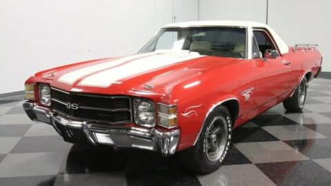 modified 1971 Chevrolet El Camino SS 454 vintage for sale