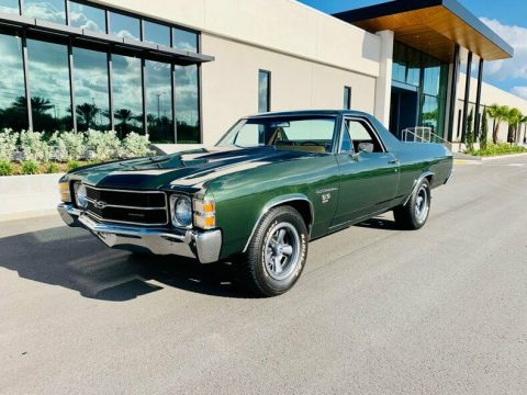 original colors 1971 Chevrolet El Camino vintage for sale