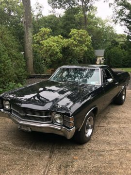 racer 1971 Chevrolet El Camino vintage for sale