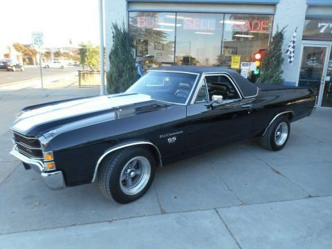 restored 1971 Chevrolet El Camino Super Sport vintage for sale