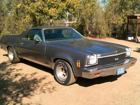 fuel injected 1973 Chevrolet El Camino vintage for sale