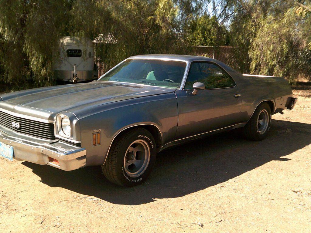 fuel injected 1973 Chevrolet El Camino vintage