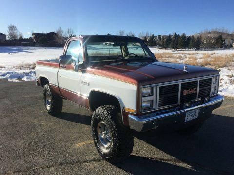 fuel injected 1987 Chevrolet C/K Pickup 1500 Sierra classic pickup for sale