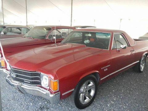 low miles 1972 Chevrolet El Camino vintage for sale
