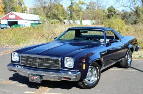mild custom 1974 Chevrolet El Camino vintage for sale
